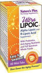 "Ultra Lipoic Mini Tabs Nature""s Plus 60 Tabs"