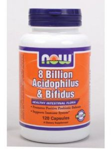 Now Foods - 8 Billion Acidophilus & Bifidus 120 Vcap