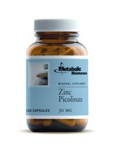 Metabolic Maintenance Zinc Picolinate 30 Mg 100 Caps