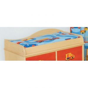 Room Magic Changing Pad Cover, Boys Like Trucks