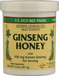 Panax Ginseng In Honey Ys Eco Bee Farms 11.0 Oz Liquid