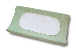 Boppy Changing Pad Cover With Waterproof Liner, Sage