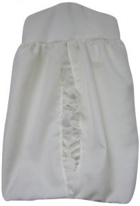 Baby Doll Layered Crib Diaper Stacker, Ivory