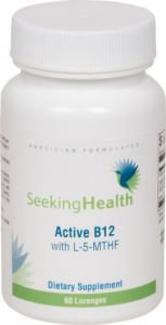 Active B12 Lozenge With L-5-mthf | 800 Mcg Of Pure Non-racemic L-methylfolate | 1,000 Mcg Of Methylcobalamin And Adenosylcobalamin Vitamin B12