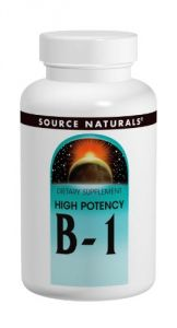 Source Naturals B-1 High Potency 500mg With Mag, 50 Tablets