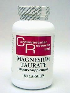 Ecological Formulas - Magnesium Taurate 125 Mg 180 Caps