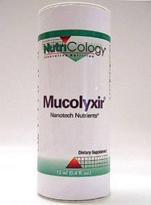 Nutricology Mucolyxir -- 12 Ml