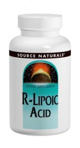 Source Naturals R-lipoic Acid 100mg, 60 Tablets