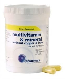 Multivitamin And Mineral Without Copper And Iron 120 Count