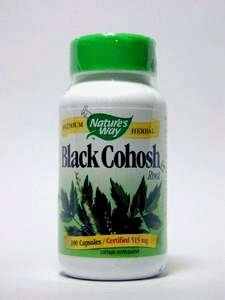 Natures Way - Black Cohosh Root - 100 Cp