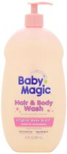 Baby Magic Gentle Hair And Body Wash Original Baby Scent, 30-ounce