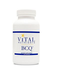 Vital Nutrients - Bcq 120 Caps