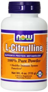 Now Foods L-citrulline Powder, 4 Ounce