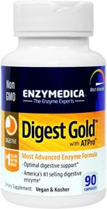 Enzymedica - Digest Gold With Atpro 90 Count - Most Advanced Digestive Enzyme Formula