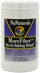 Nunaturals Morefiber Stevia Baking Blend Powder, 14.11-ounce