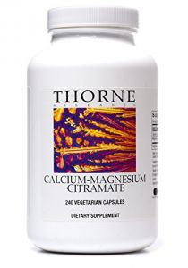 Thorne Research Otc Calcium-magnesium Citramate Capsules, 240 Count