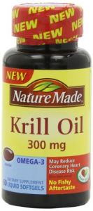 Nature Made Krill Oil Softgels, 300 Mg, 60 Count