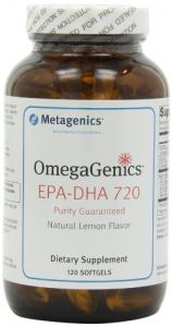 Omegagenics Metagenics Epa-dha 720 - 120 Softgels