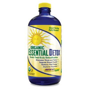 Renew Life Organic Essential Detox, 16.2-ounce Glass Bottle