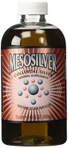 Mesosilver 20 Ppm Colloidal Silver 250 Ml/8.45 Oz