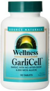 Source Naturals Wellness Garlicell 6000mcg, 90 Tablets