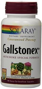 Solaray Gallstonex-artichoke Special Formula Supplement, 450 Mg, 90 Count