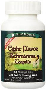 Eight Flavor Rehmannia Teapills -- Economy Size -- Plum Flower, 1000 Pills