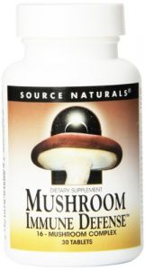 Source Naturals Mushroom Immune Defense, 30 Tablets