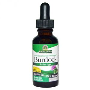 "Nature""s Answer Burdock Root Alcohol Free -- 1 Fl Oz"
