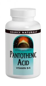 Source Naturals Pantothenic Acid 500mg, 200 Tablets