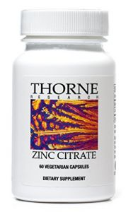 "Thorne Research - Zinc Citrate (30 Mg) - 60""s [health And Beauty]"