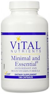 Vital Nutrients - Minimal And Essential 180 Caps