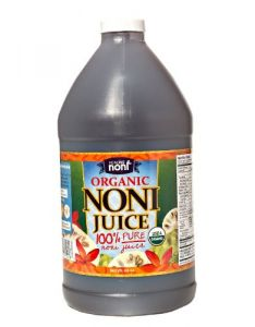 100% Pure Organic Hawaiian Noni Juice - 1/2 Gallon Jug 64oz