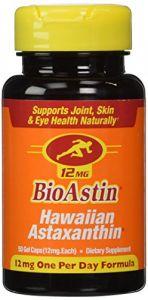 Nutrex Health Supplements - NUTREX BIOASTIN 12MG HAWAIIAN ASTAXANTHIN, 100 caps