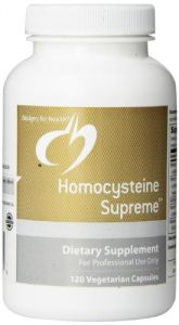 Designs For Health Homocysteine Supreme Capsules, 120 Count