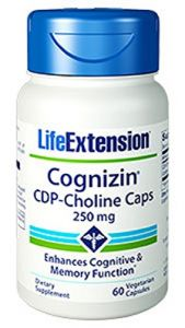 Life Extension Cognizin Cdp-choline 60 V Caps