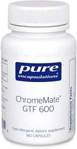 Pure Encapsulations - Chromemate Gtf 600 - 180ct [health And Beauty]