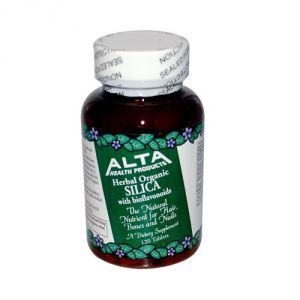Sil X Silica 500mg Alta Health Products 120 Tabs
