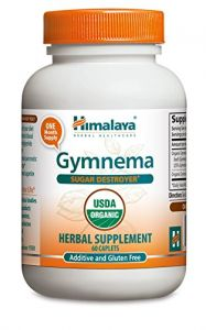 Himalaya Organic Gymnema 60 Caplets For Sugar Destroyer & Healthy Glucose Metabolism 700mg (pack Of 2)