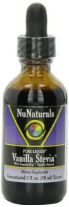 Nunaturals Pure Liquid Vanilla Stevia, 2 Ounces (pack Of 2)