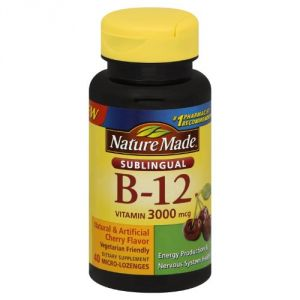 Nature Made Vitamin B-12 3000 Mcg Sublingual, 40 Count
