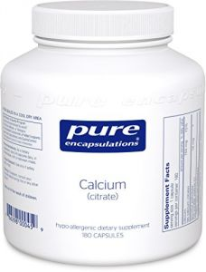 Pure Encapsulations - Calcium (citrate) - 180ct