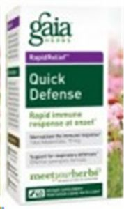 Gaia Herbs Quick Defense, 40 Liquid Phyto-capsules