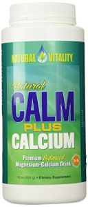 Natural Vitality - Calm Plus Calcium 16 Ounces