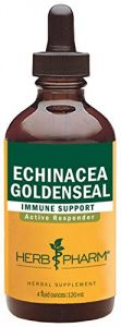 Herb Pharm Echinacea/goldenseal Herbal Formula For Active Immune Support - 4 Ounce