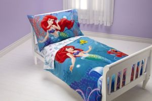 Disney 4 Piece Toddler Set, Ariel Ocean Princess
