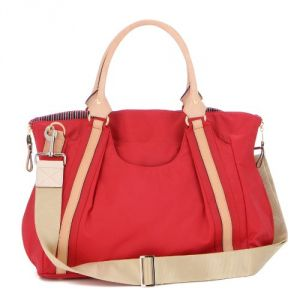 Danzo Diaper Hobo Bag, Fire Engine Red