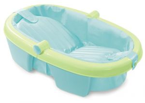 Summer Infant Fold-away Baby Bath, Green