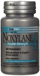 Lane Labs Noxylane 4 Double Strength Bottle, 50 Caplets