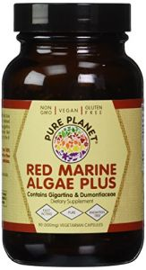 Pure Planet - Red Marine Algae Plus - 90 Vegcaps